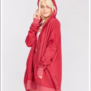 Make Offer Wildfox Essentials Charmed Hoodie Red